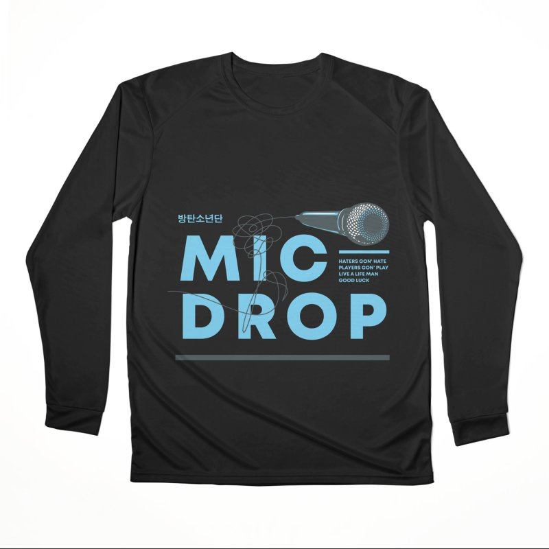 BTS Mic Drop Men's Longsleeve T-Shirt by tulleceria