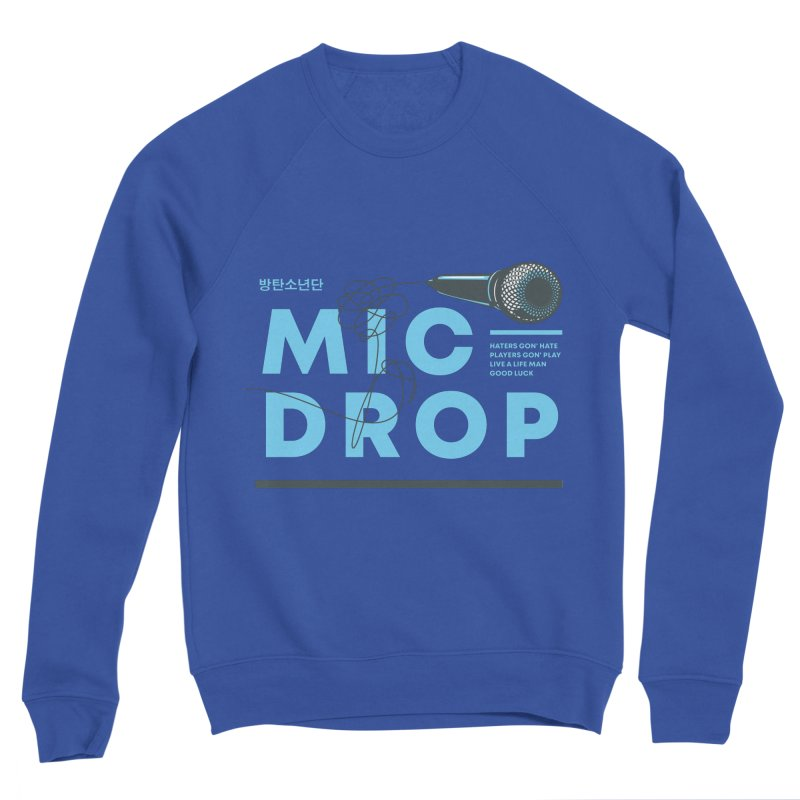BTS Mic Drop Men's Sweatshirt by tulleceria