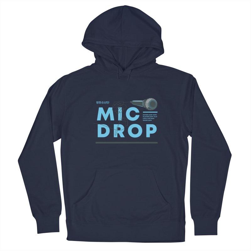 BTS Mic Drop Men's Pullover Hoody by tulleceria