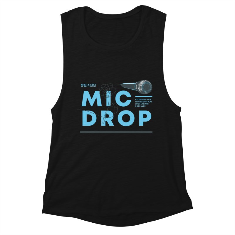 BTS Mic Drop Women's Tank by tulleceria