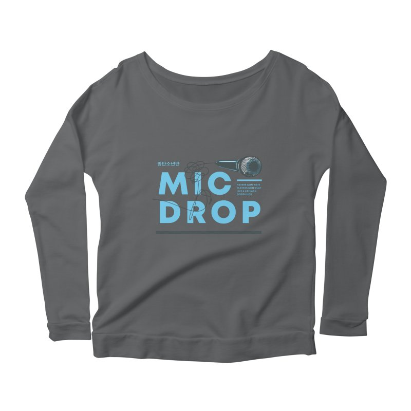 BTS Mic Drop Women's Longsleeve T-Shirt by tulleceria