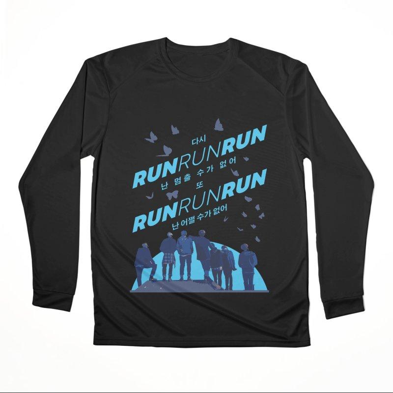 BTS Run Women's Longsleeve T-Shirt by tulleceria