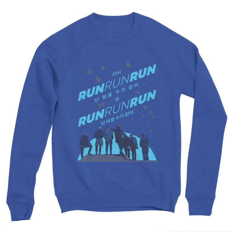 BTS Run Men's Sweatshirt by tulleceria