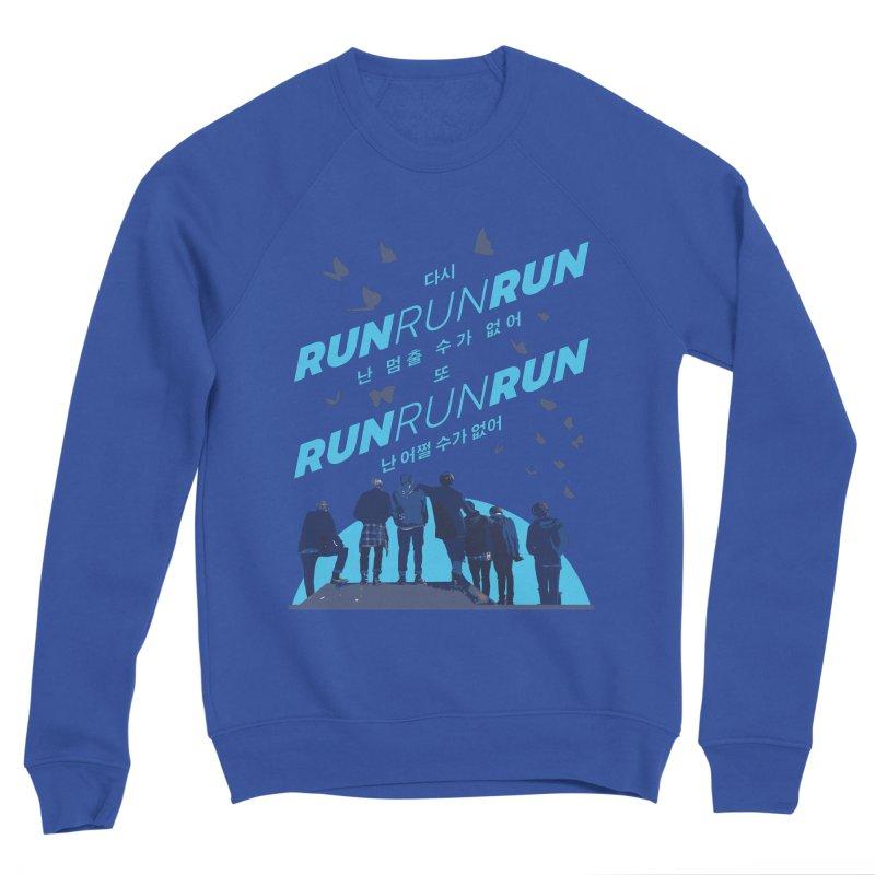BTS Run Women's Sweatshirt by tulleceria