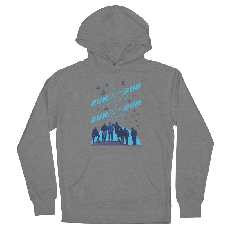 BTS Run Women's Pullover Hoody by tulleceria