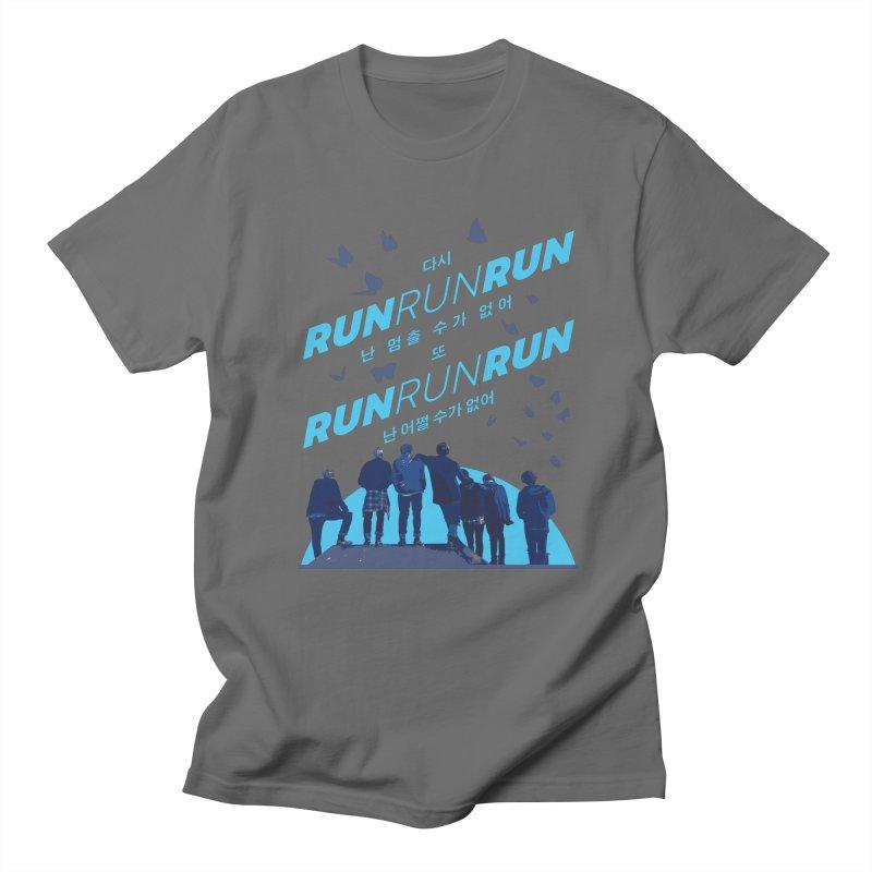 BTS Run Men's T-Shirt by tulleceria