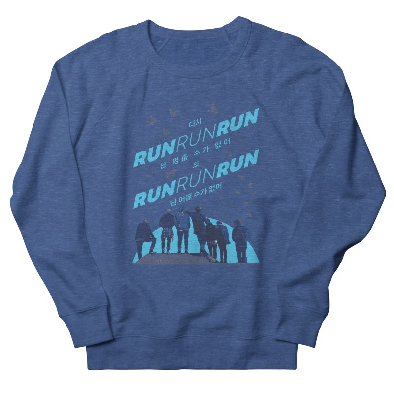 BTS Run Men's Sweatshirt by tulleceria