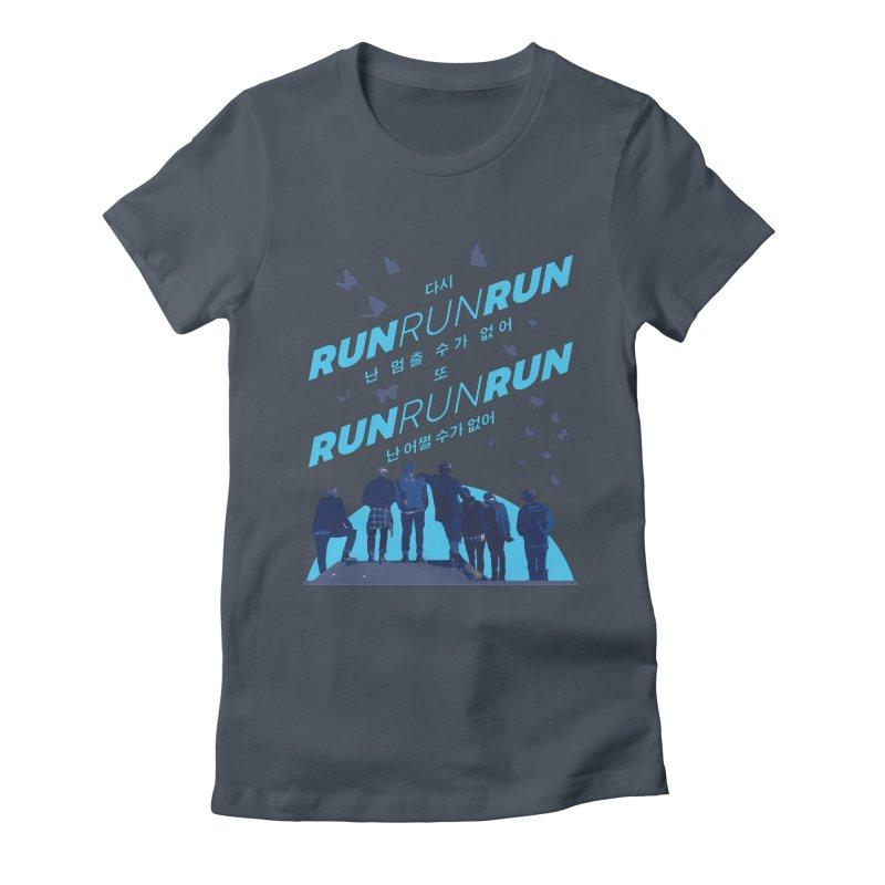 BTS Run Women's T-Shirt by tulleceria