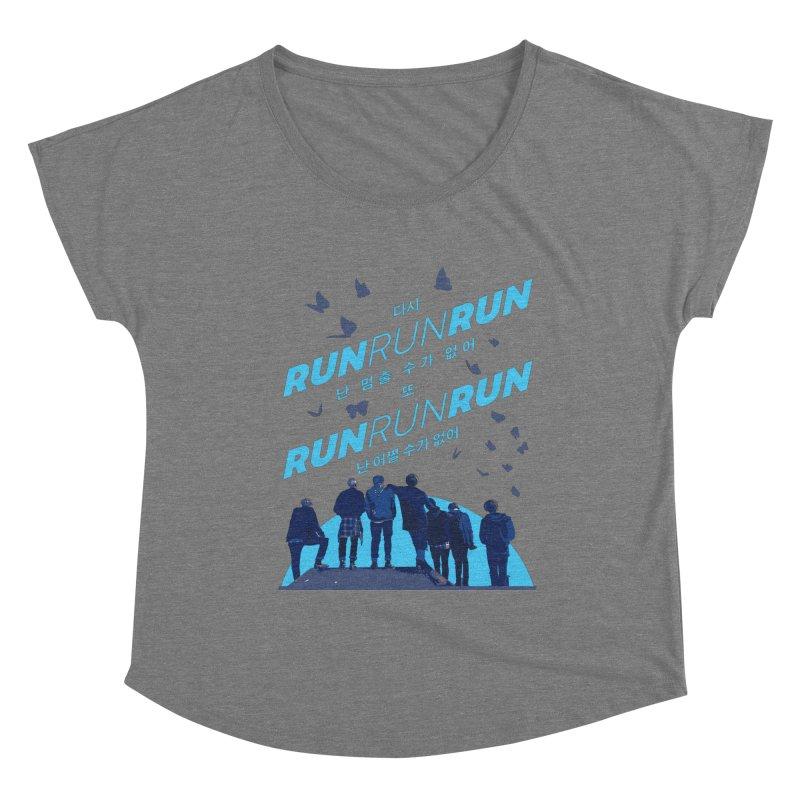 BTS Run Women's Scoop Neck by tulleceria