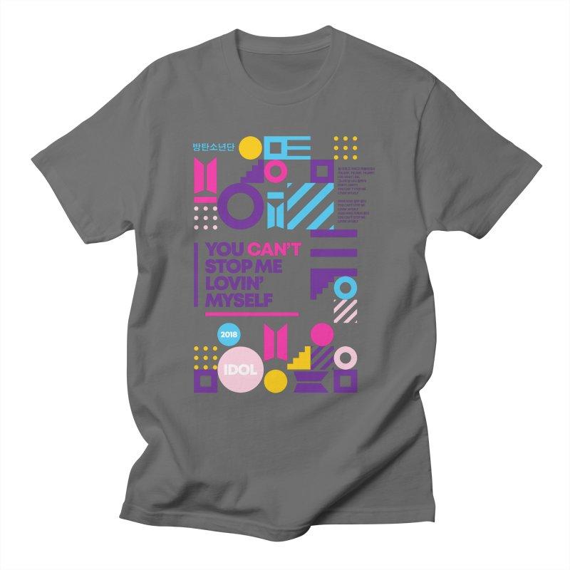 BTS IDOL Men's T-Shirt by tulleceria