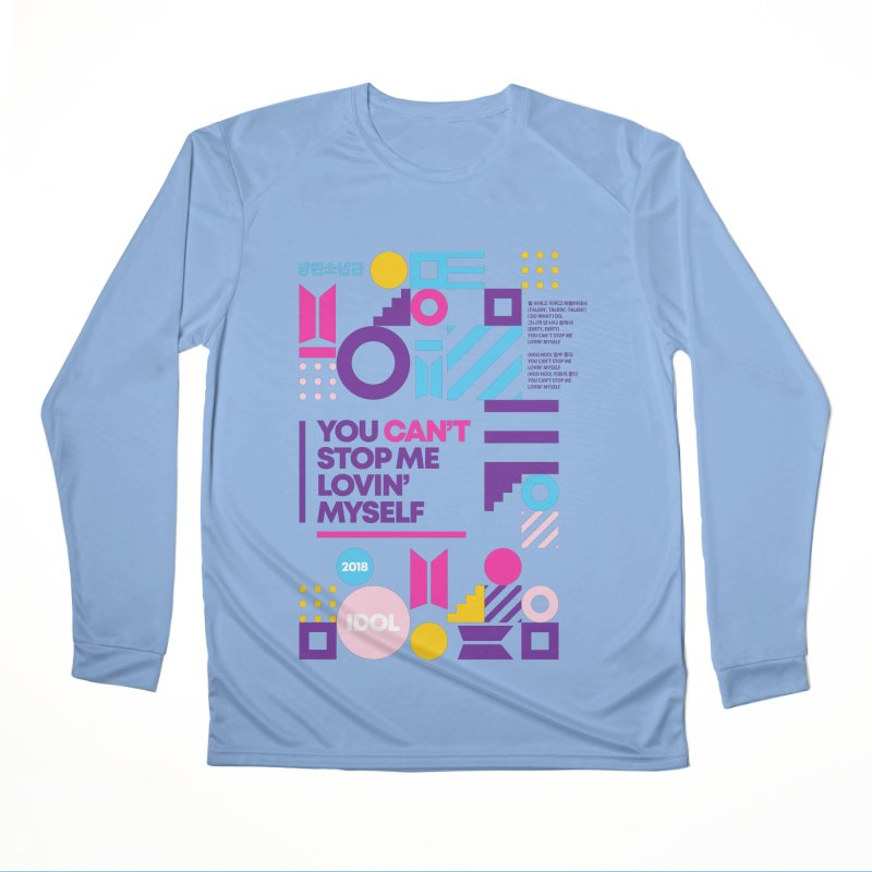 BTS IDOL Men's Longsleeve T-Shirt by tulleceria