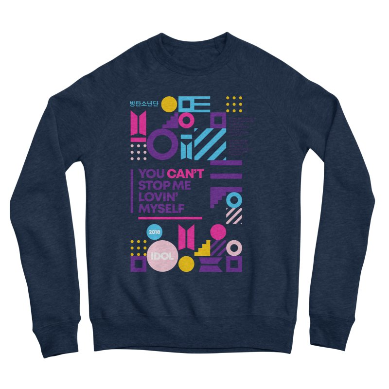 BTS IDOL Men's Sweatshirt by tulleceria