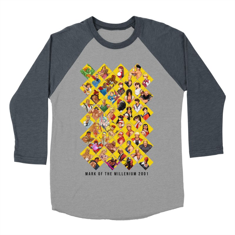 Capcom Vs SNK 2 Men's Baseball Triblend T-Shirt by tulleceria