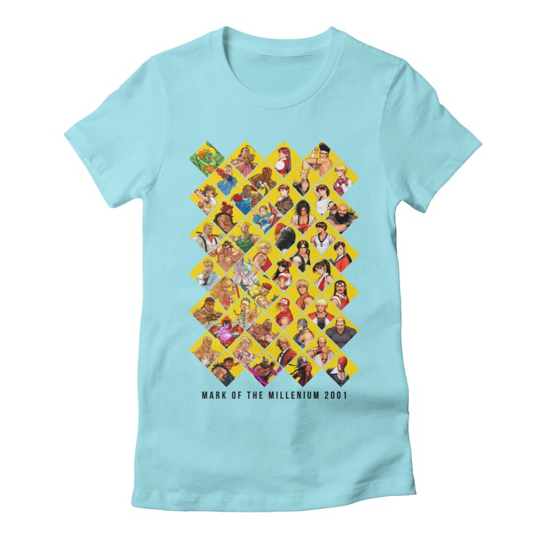 Capcom Vs SNK 2 Women's Fitted T-Shirt by tulleceria