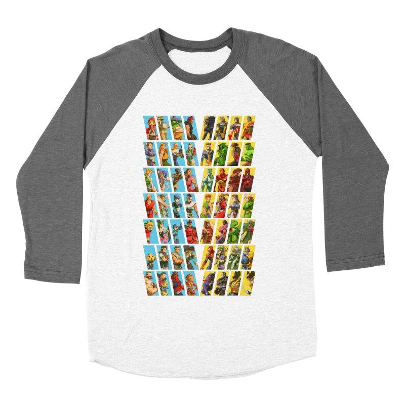 Marvel Vs Capcom 2 Men's Baseball Triblend T-Shirt by tulleceria