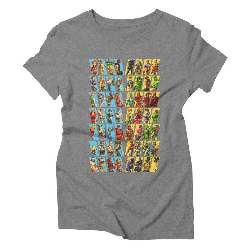 Marvel Vs Capcom 2 Women's Triblend T-shirt by tulleceria