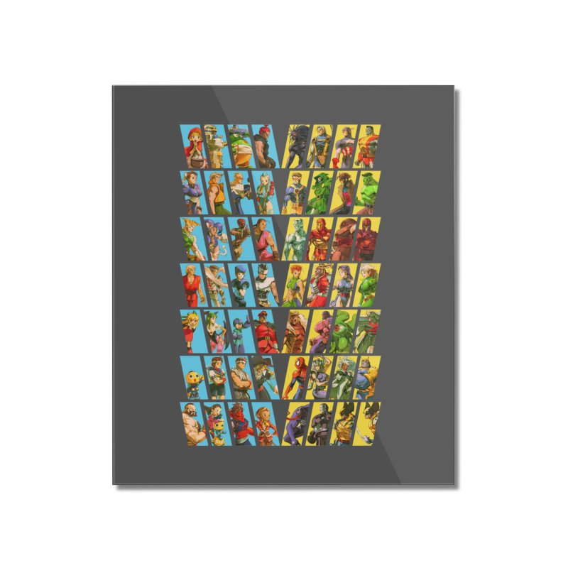 Marvel Vs Capcom 2 Home Mounted Acrylic Print by tulleceria