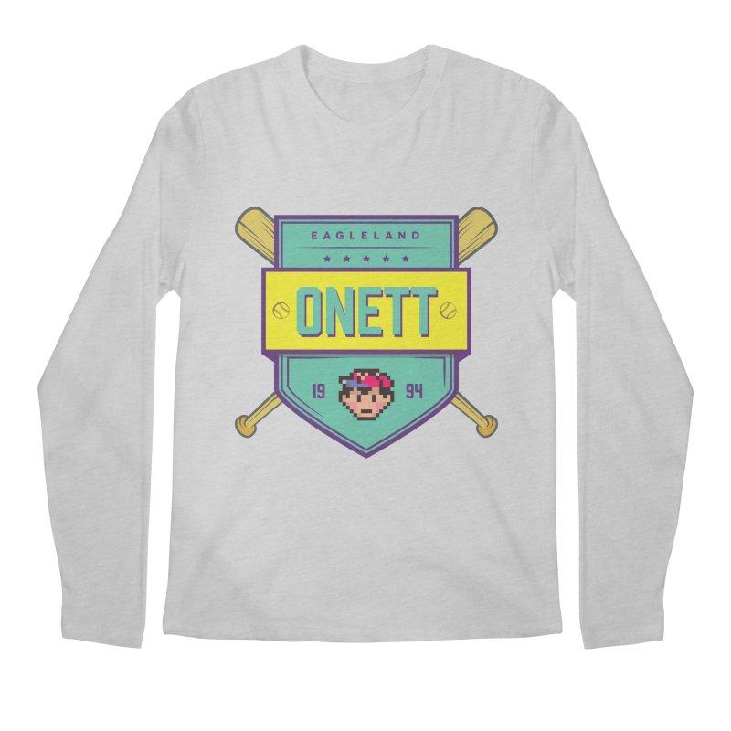 Earthbound Onett Men's Longsleeve T-Shirt by tulleceria