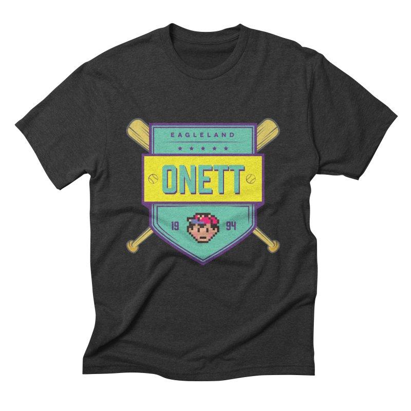 Earthbound Onett Men's Triblend T-shirt by tulleceria