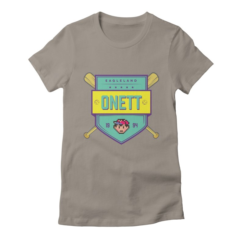 Earthbound Onett Women's Fitted T-Shirt by tulleceria
