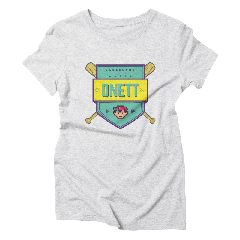 Earthbound Onett Women's Triblend T-shirt by tulleceria