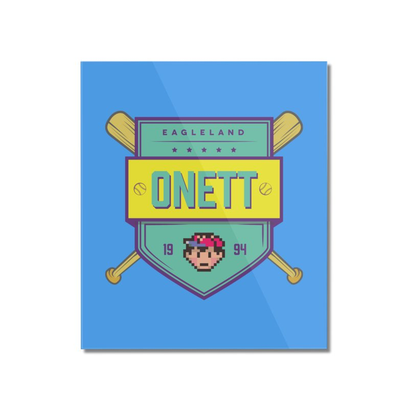 Earthbound Onett Home Mounted Acrylic Print by tulleceria