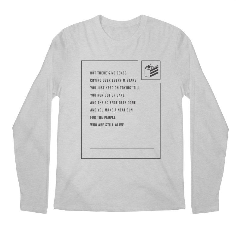 Portal Men's Longsleeve T-Shirt by tulleceria