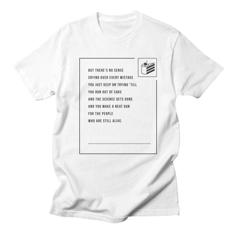 Portal Men's T-shirt by tulleceria