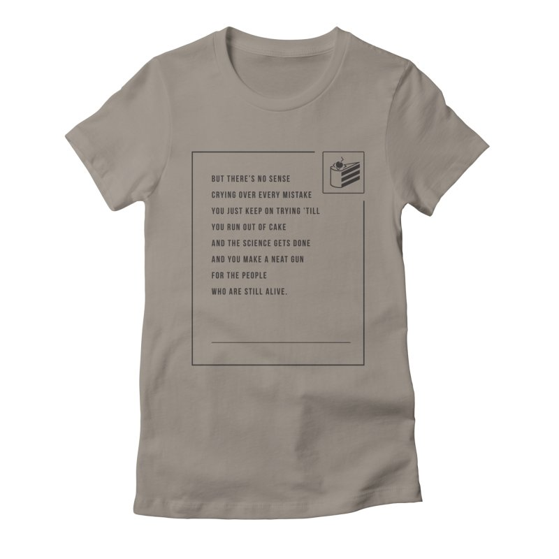 Portal Women's Fitted T-Shirt by tulleceria