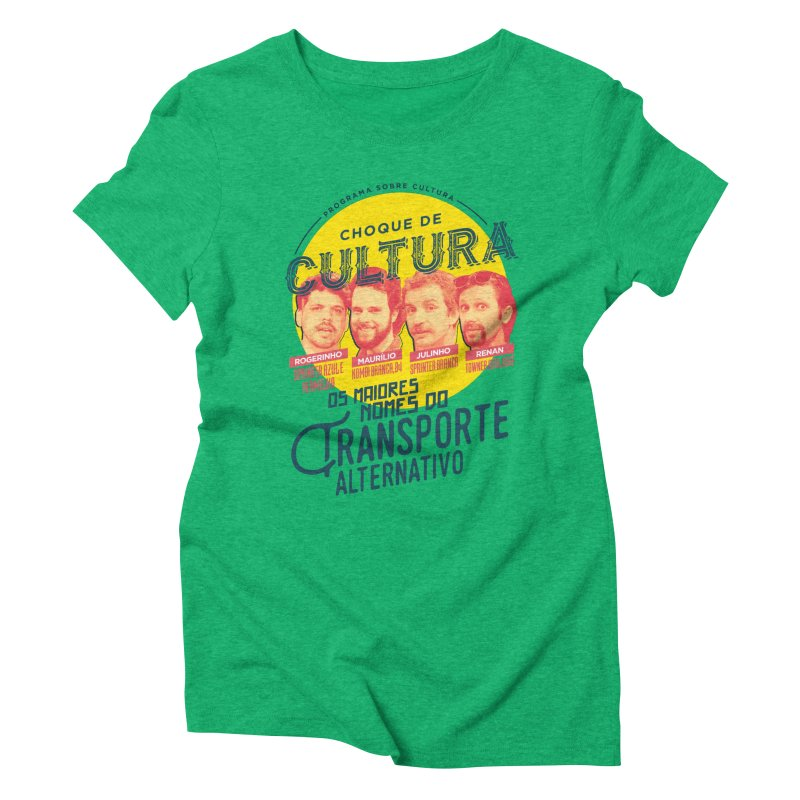 Choque de Cultura Women's Triblend T-Shirt by tulleceria