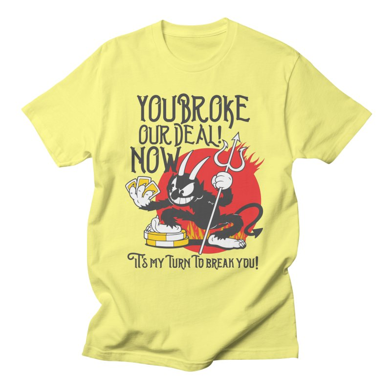 Cuphead Devil Men's T-Shirt by tulleceria
