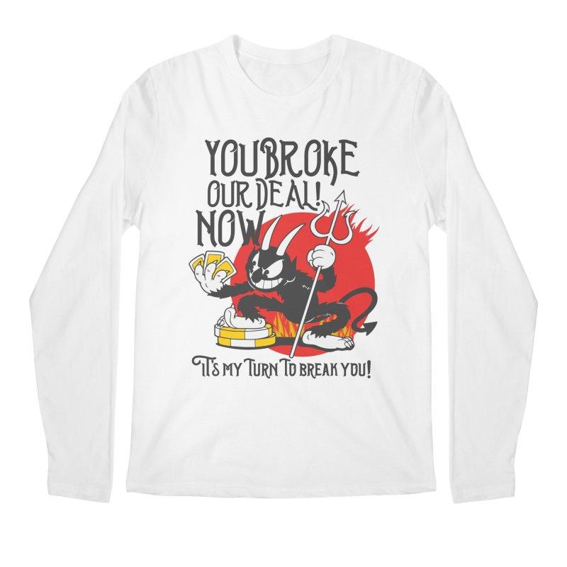 Cuphead Devil Men's Longsleeve T-Shirt by tulleceria