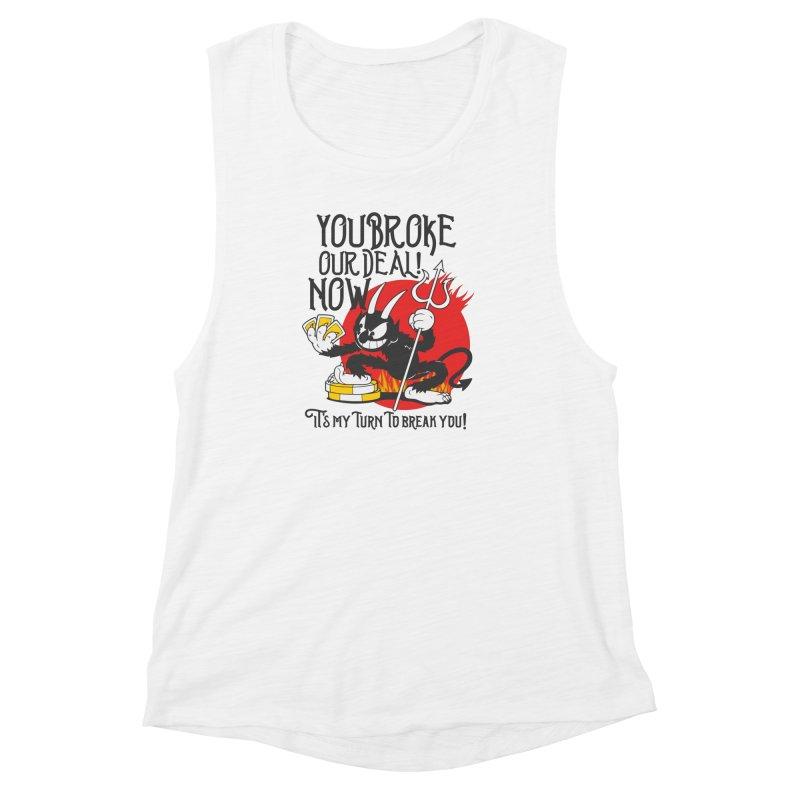 Cuphead Devil Women's Muscle Tank by tulleceria