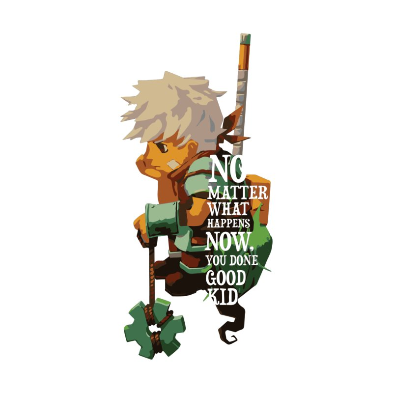 Bastion The Kid by tulleceria