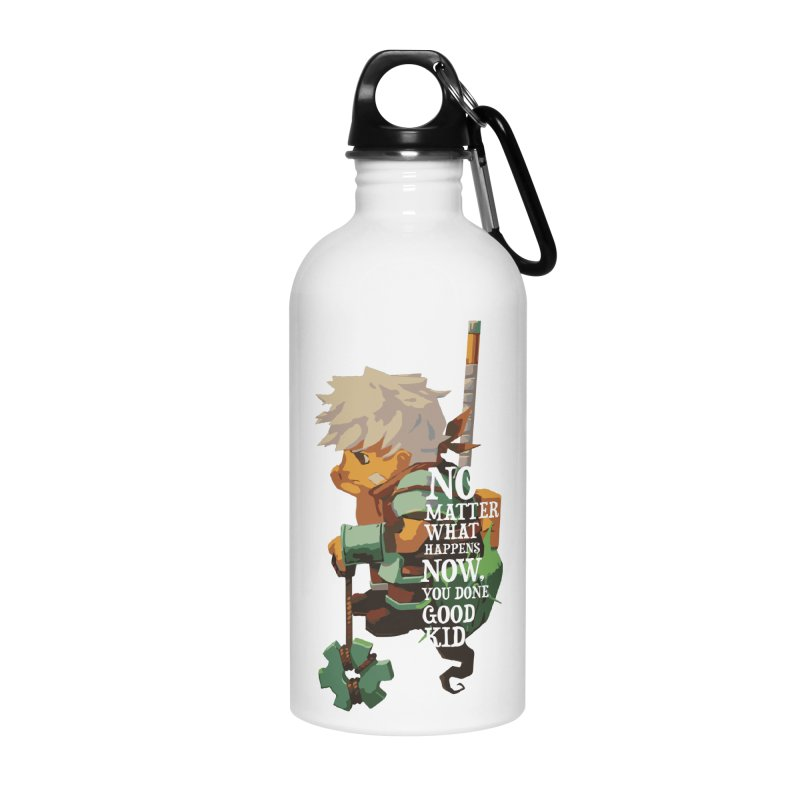 Bastion The Kid Accessories Water Bottle by tulleceria