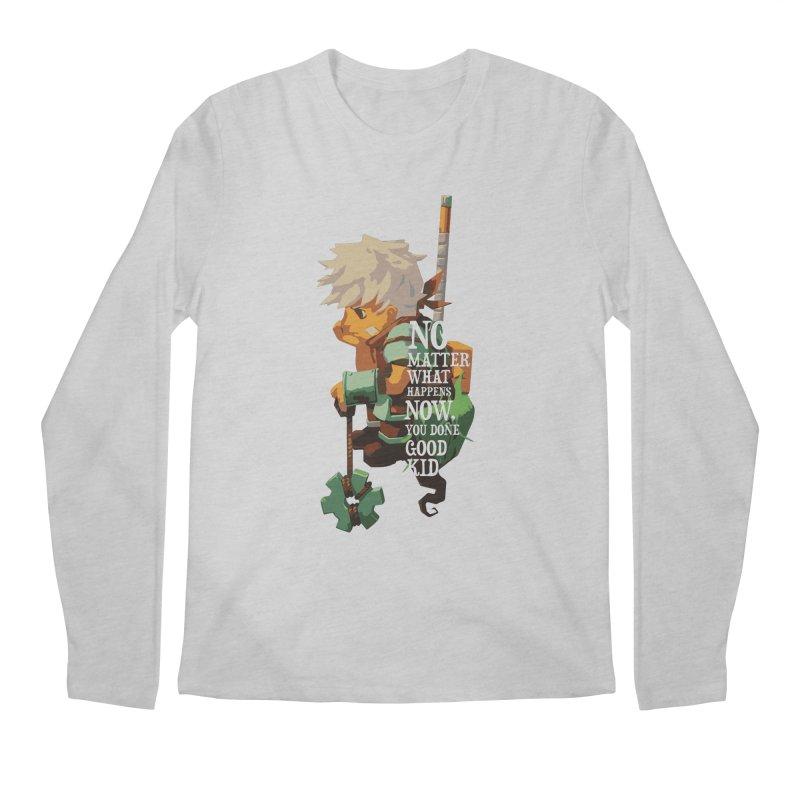 Bastion The Kid Men's Longsleeve T-Shirt by tulleceria