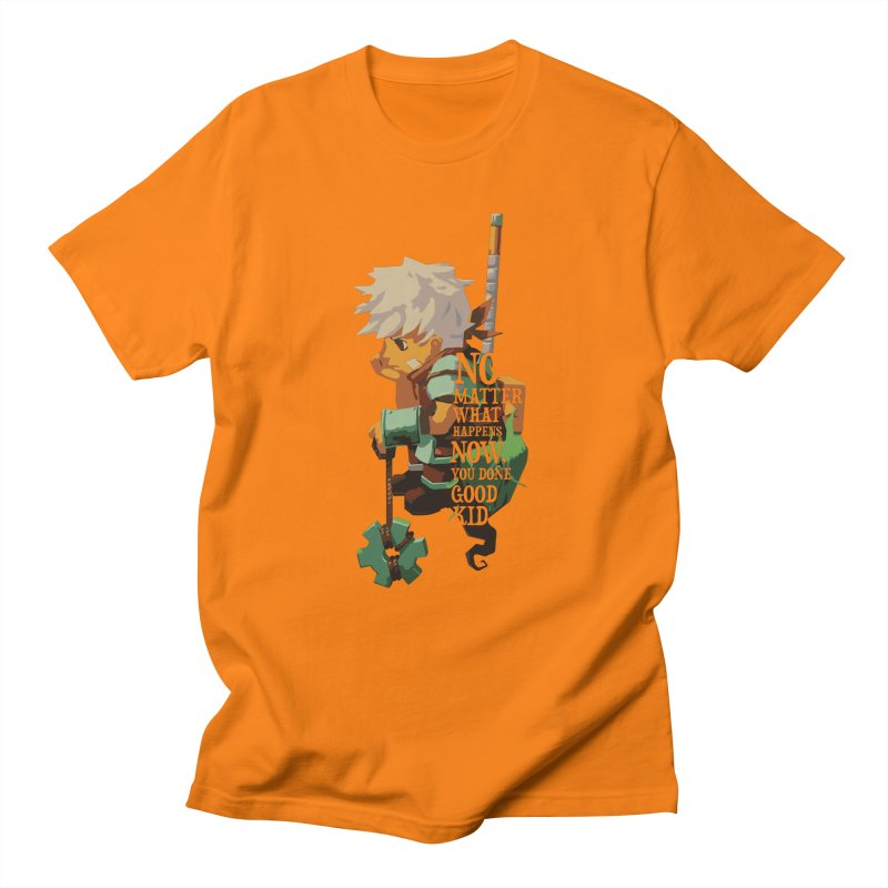 Bastion The Kid Men's T-Shirt by tulleceria
