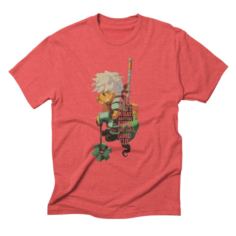 Bastion The Kid Men's Triblend T-Shirt by tulleceria