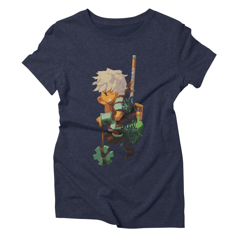 Bastion The Kid Women's Triblend T-Shirt by tulleceria