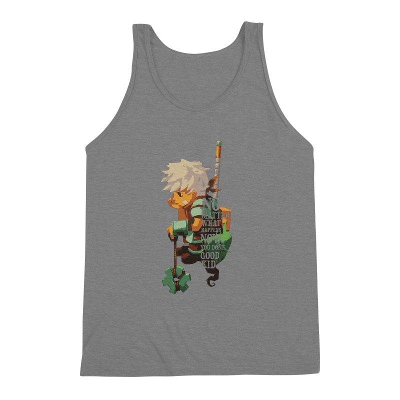 Bastion The Kid Men's Triblend Tank by tulleceria