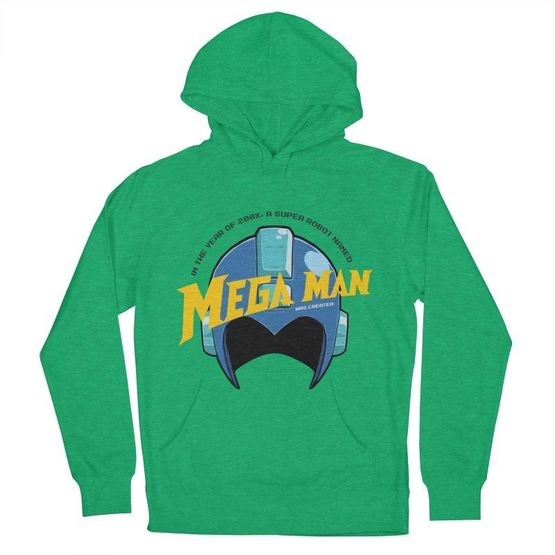 Mega Man Men's Pullover Hoody by tulleceria