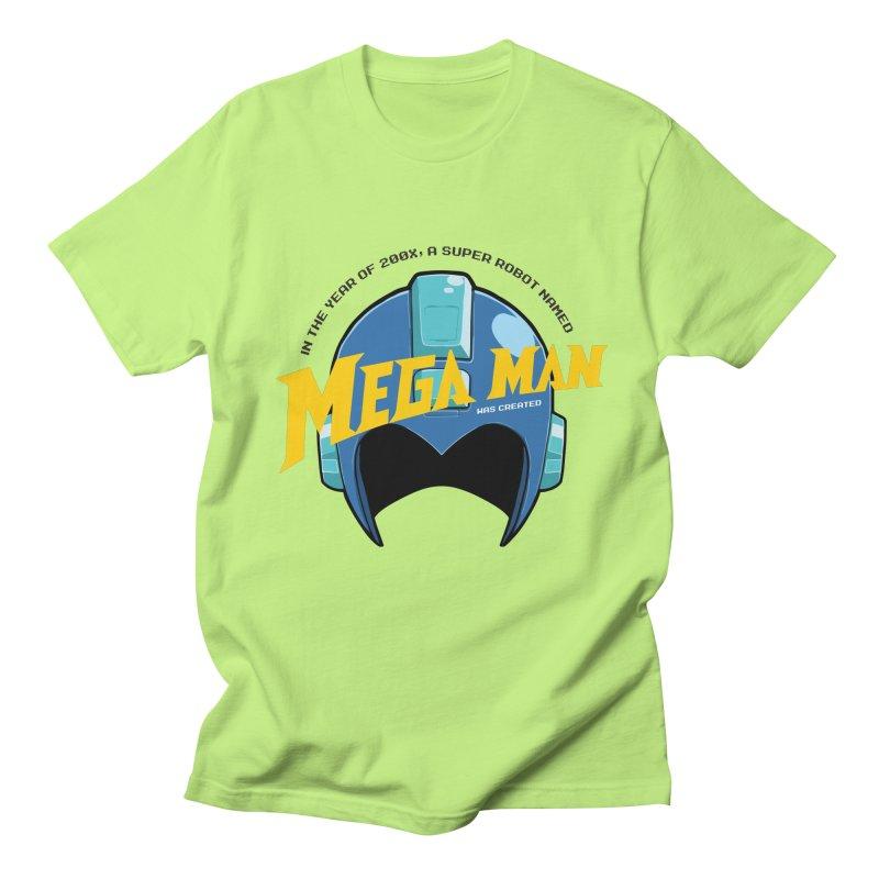 Mega Man Women's Unisex T-Shirt by tulleceria
