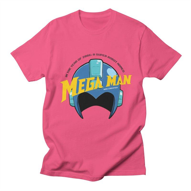 Mega Man Men's T-Shirt by tulleceria