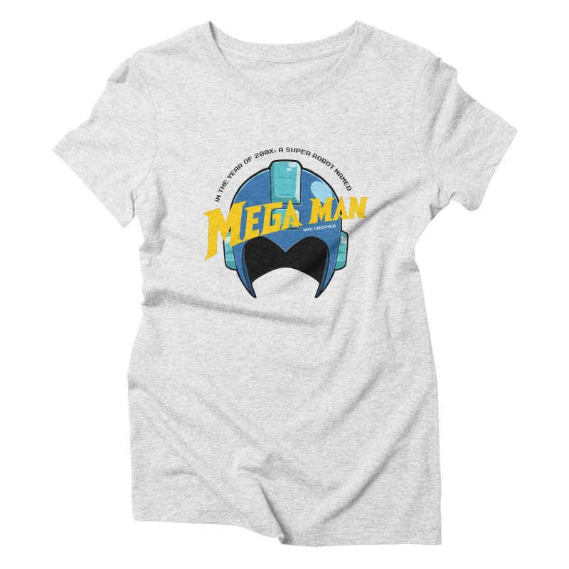 Mega Man Women's Triblend T-Shirt by tulleceria