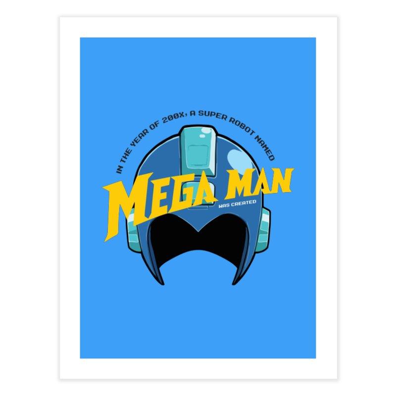 Mega Man Home Fine Art Print by tulleceria
