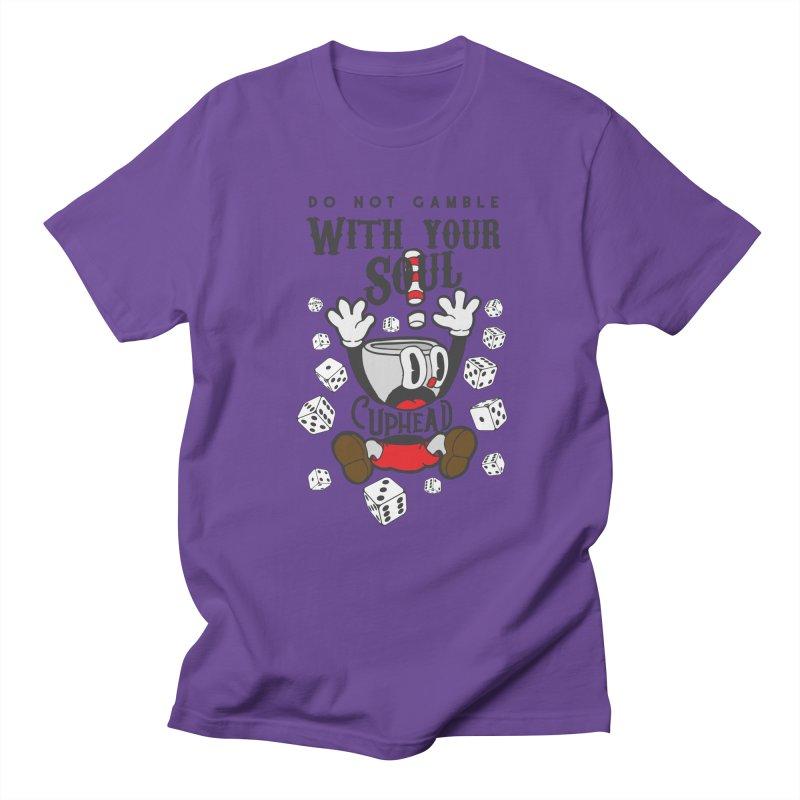 Cuphead Gamble Men's T-Shirt by tulleceria
