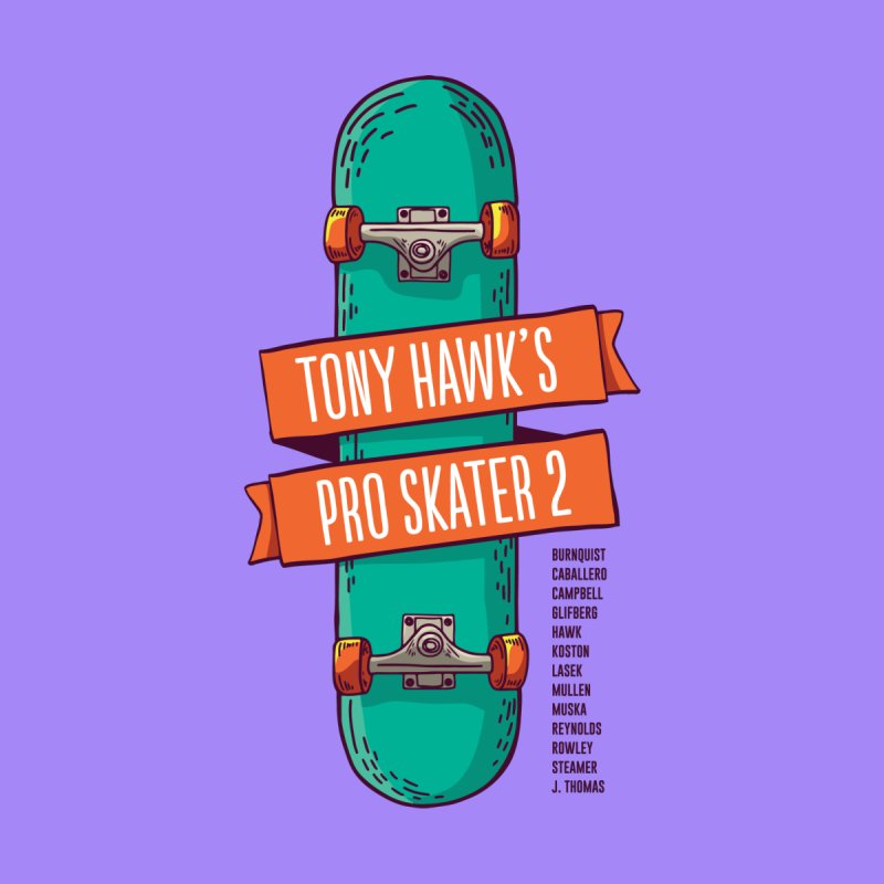 Tony Hawk's Pro Skater 2 by tulleceria