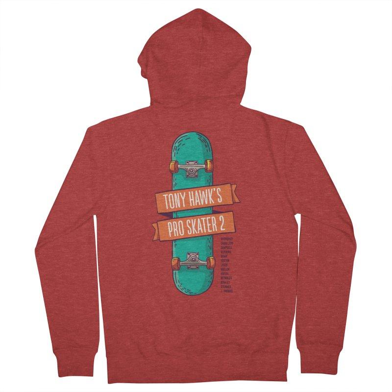 Tony Hawk's Pro Skater 2 Men's Zip-Up Hoody by tulleceria