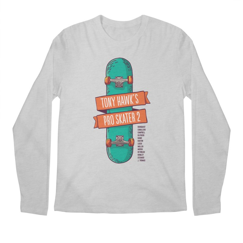 Tony Hawk's Pro Skater 2 Men's Longsleeve T-Shirt by tulleceria