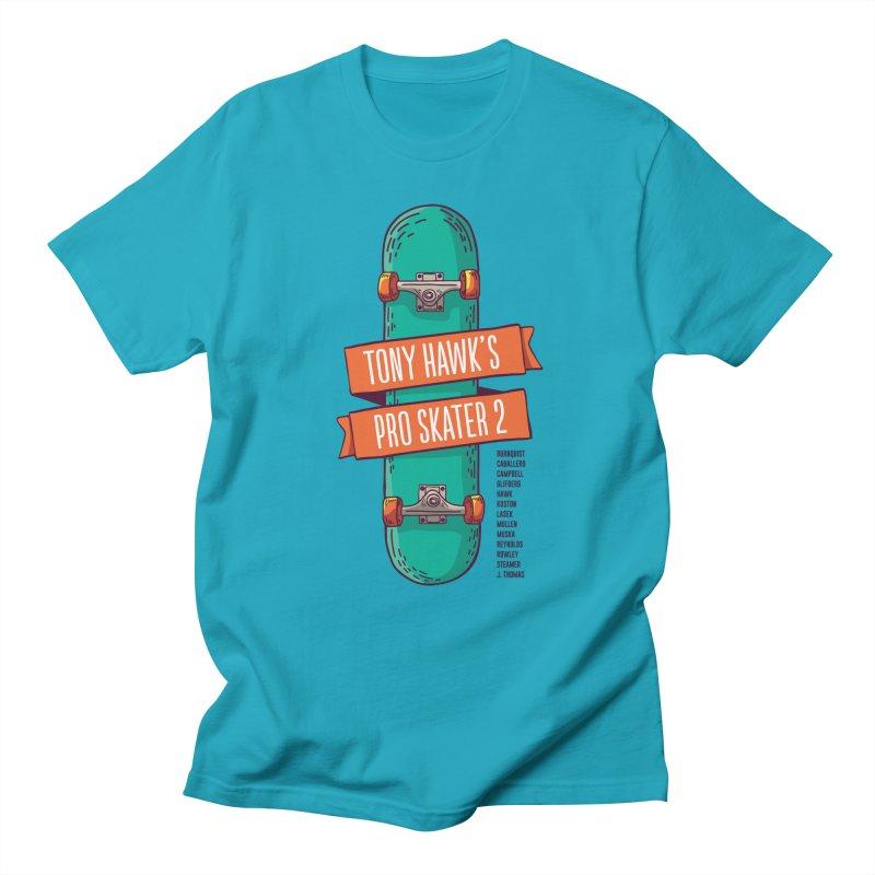Tony Hawk's Pro Skater 2 Men's T-Shirt by tulleceria